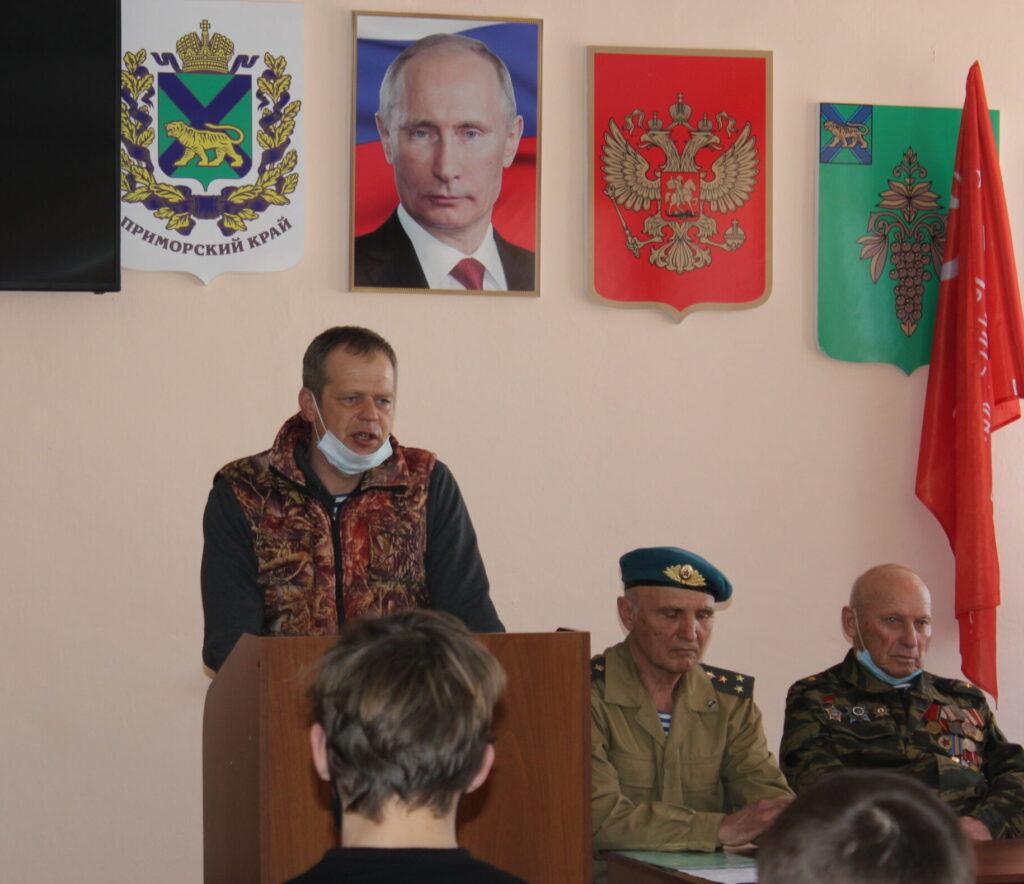 11 февраля Встреча с воинами-интернационалистами